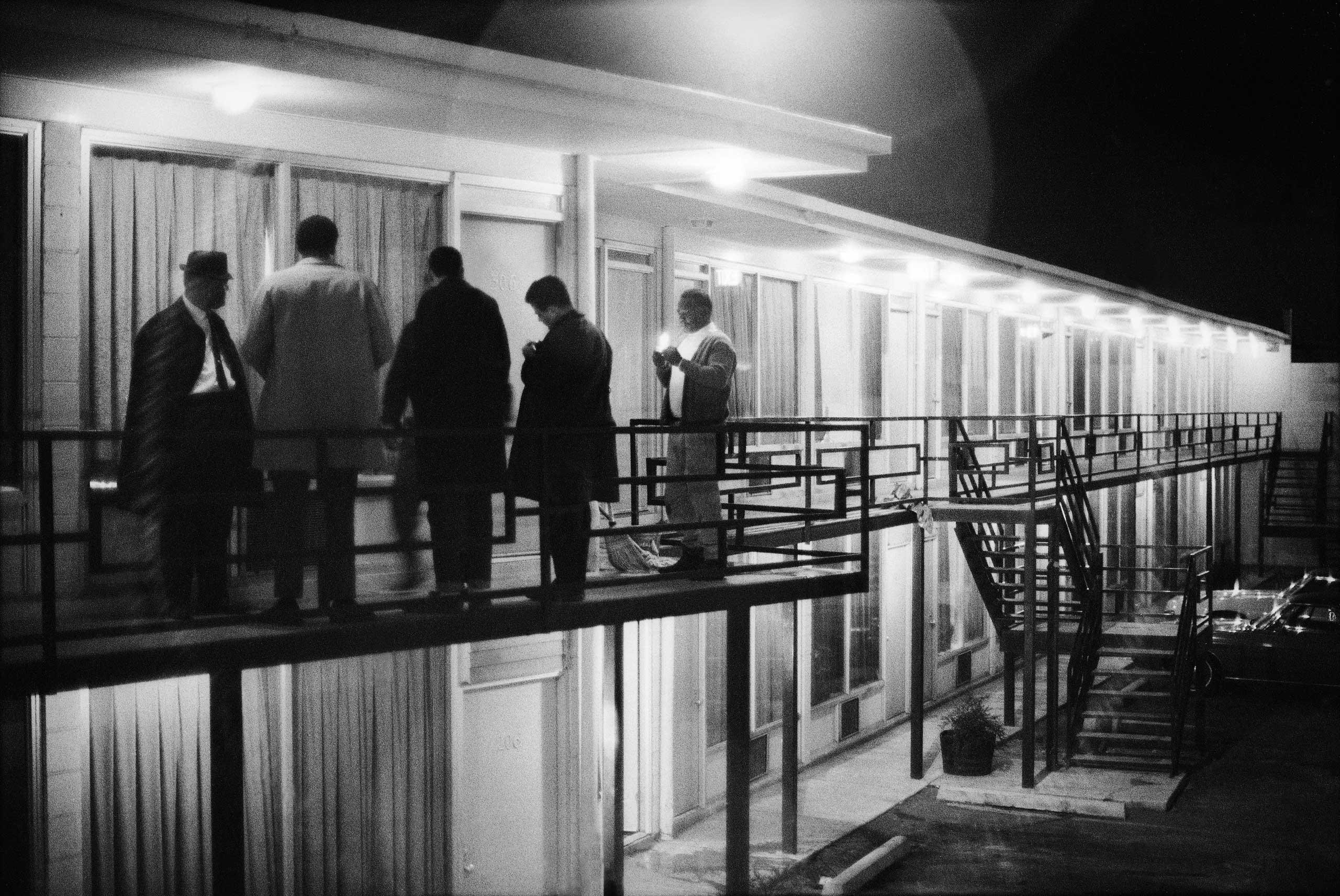 Коллеги Кинга после его убийства