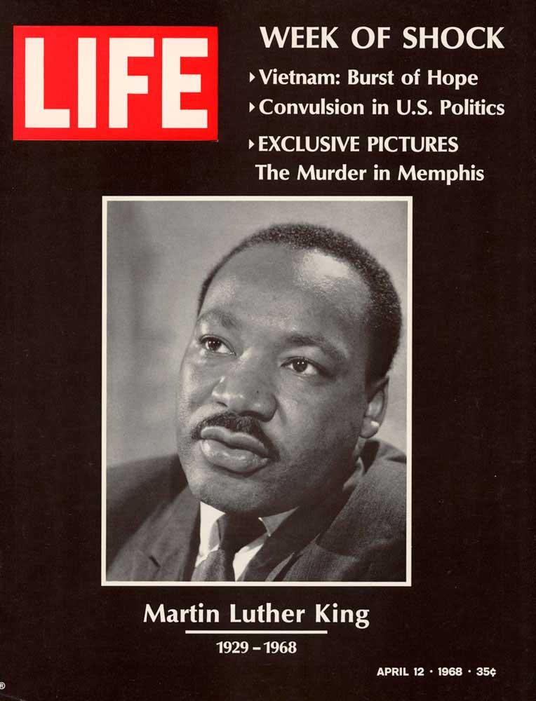 Обложка журнала LIFE от 12 апреля 1968 года