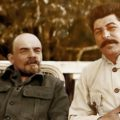Владимир Ленин иИосиф Сталин в Горках, 1920 год