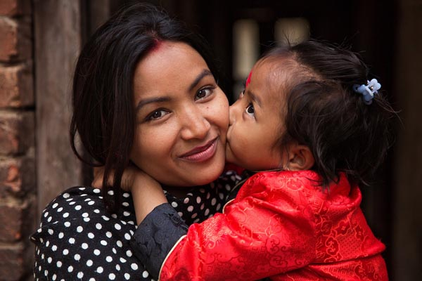 Красота матерей и их детей со всего мира в фотопроекте Михаэлы Норок