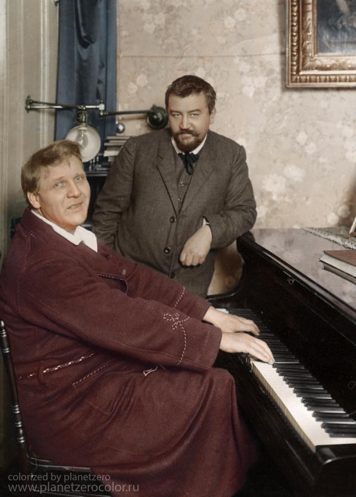 Фёдор Шаляпин иАлександр Куприн