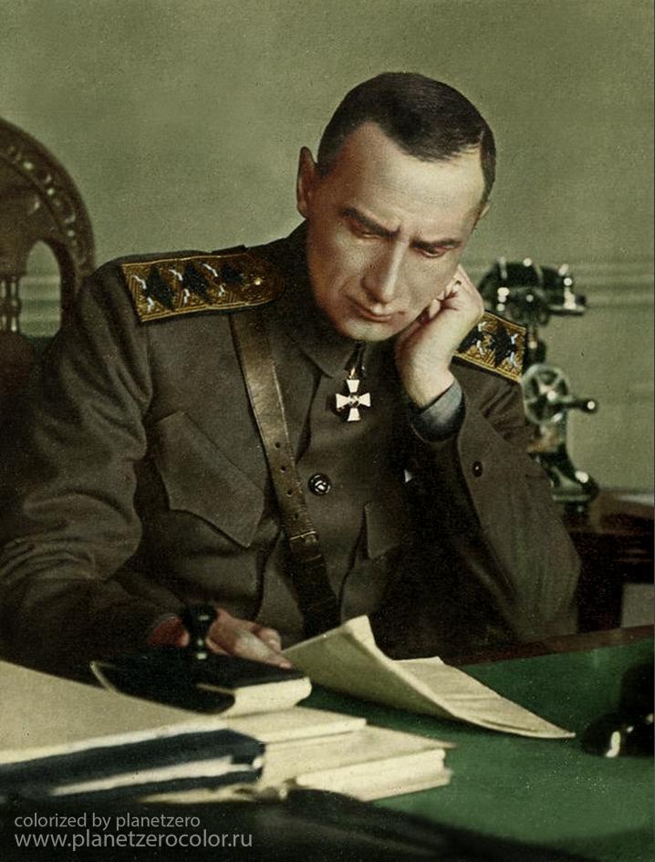 Руководитель Белого движения во время Гражданской войны в РоссииАлександр Васильевич Колчак