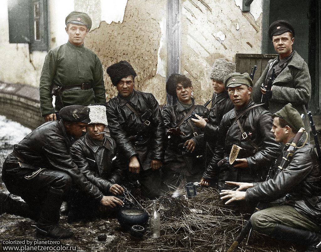 Красноармейцы, 1919 год
