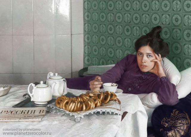Чаепитие, 1904 год