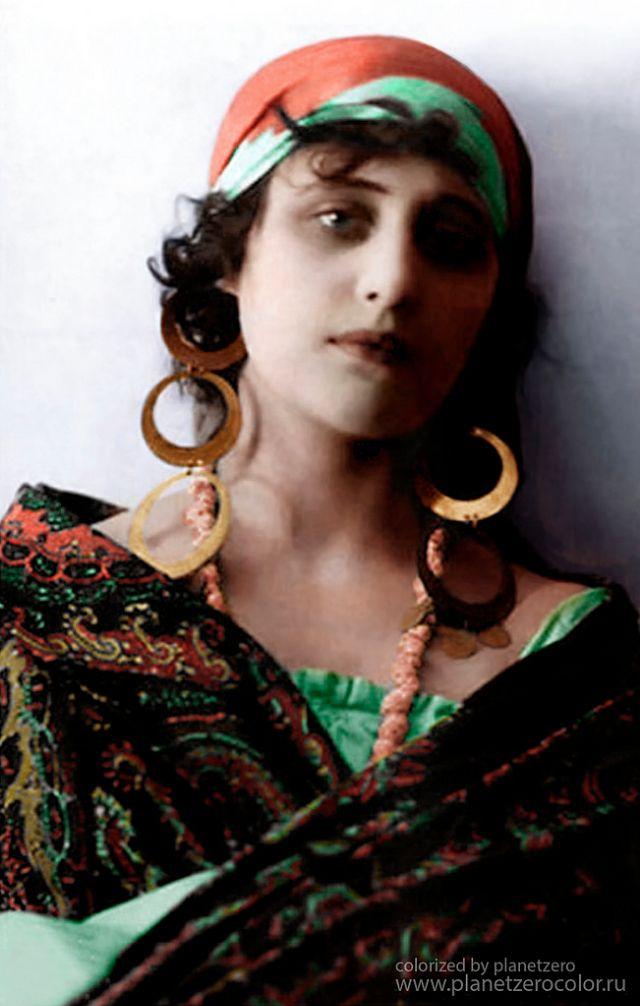 Вера Холодная - актриса немого кино, 1916 год