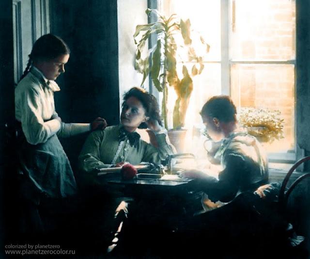 Семья фотографа Андрея Карелина