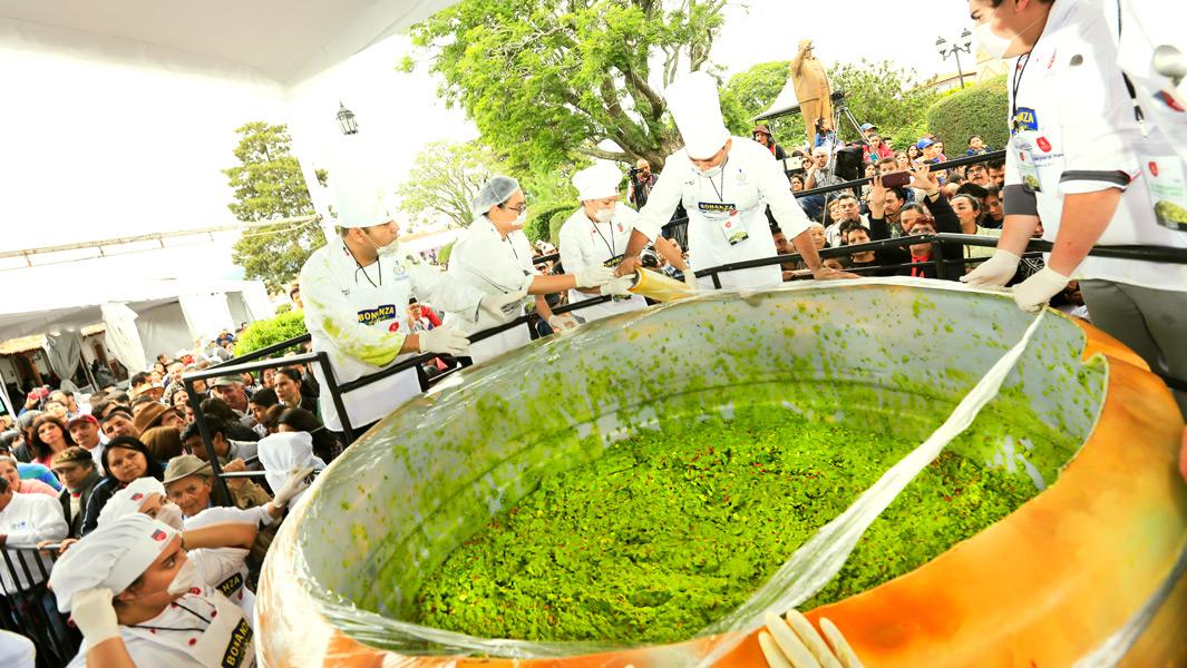 Самая большая порция гуакамоле