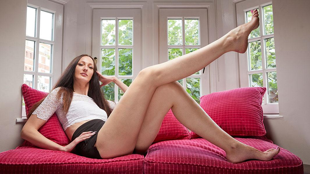 Самые длинные ноги среди женщин и самая высокая профессиональная модель, Екатерина Лисина