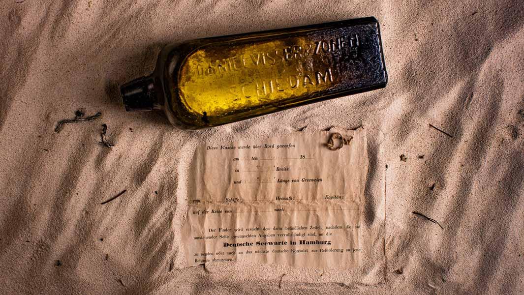 Самое старое послание в бутылке