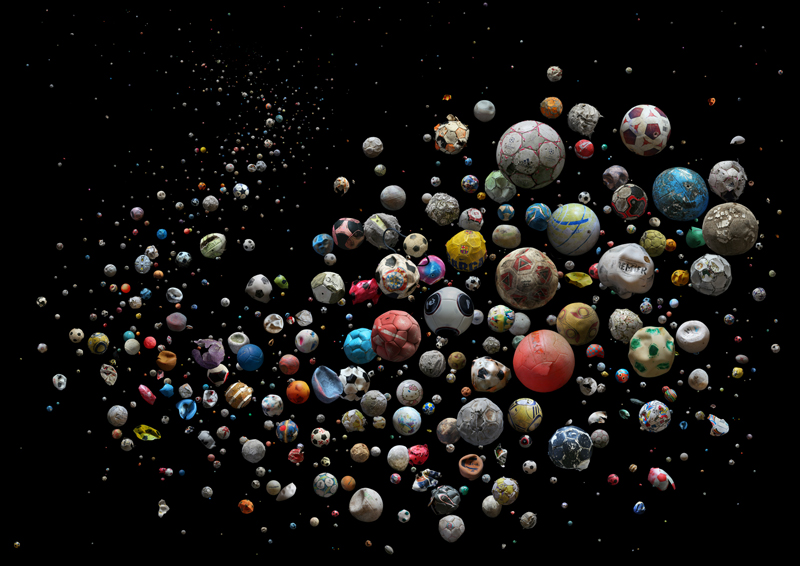 633 мячей и их остатков, найденных на пляжах и островах 23 стран Европы