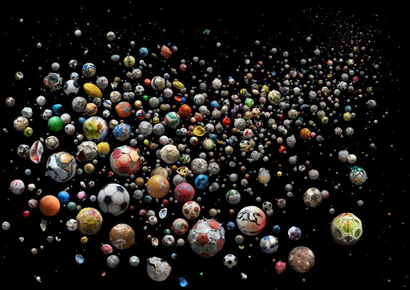 769 мячей, найденные на пляжах и в водах 41 страны