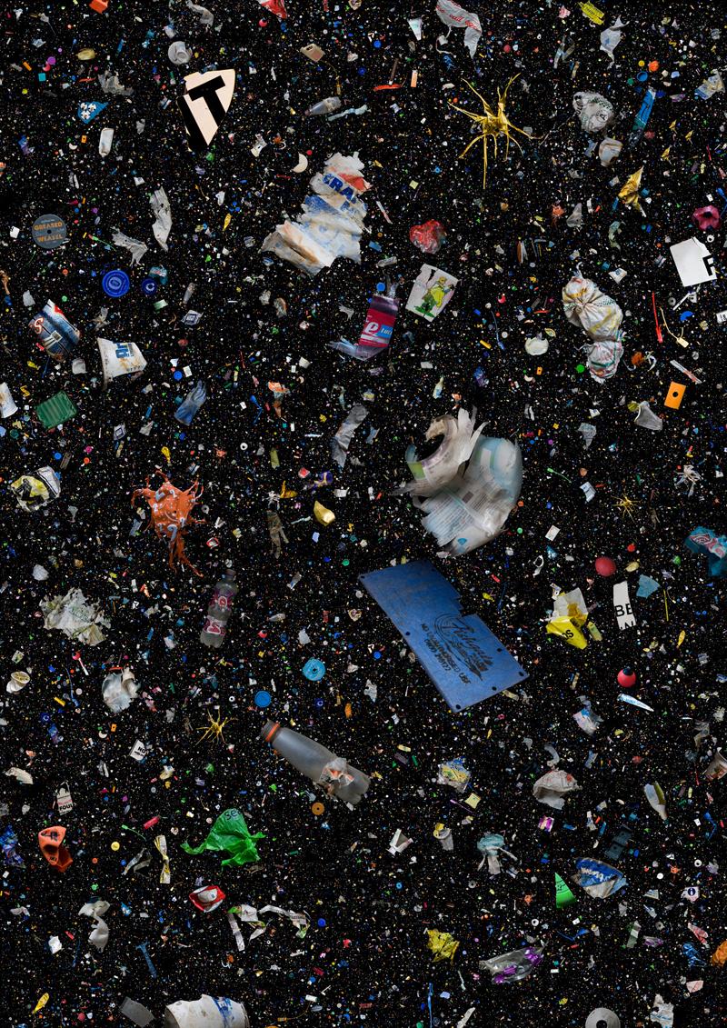 Пластиковые бытовые отходы