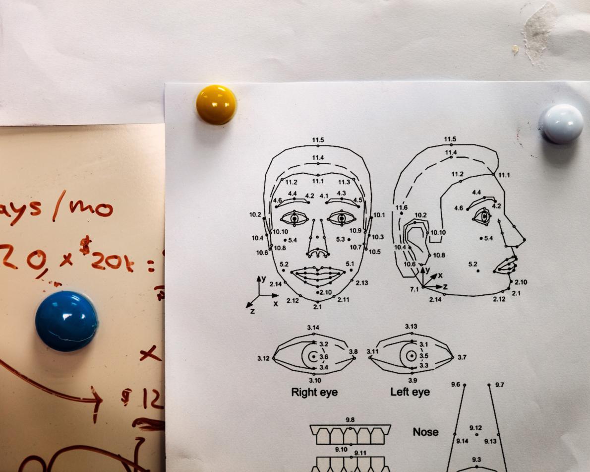 Схемы, подобные этим, помогают инженерам разрабатывать диапазон эмоций робота