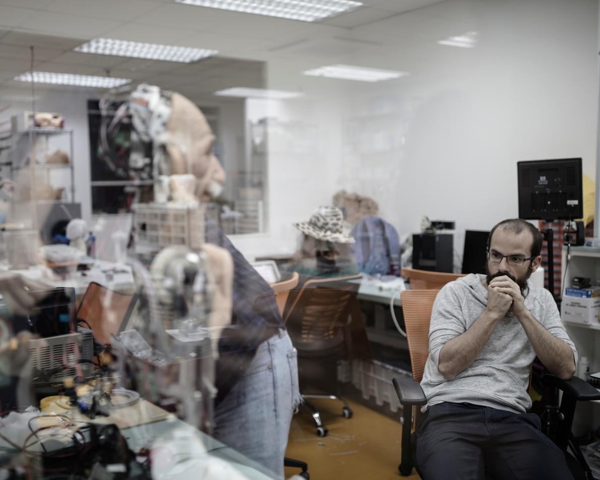 «Hanson Robotics» также создали робота, похожего на Альберта Эйнштейна