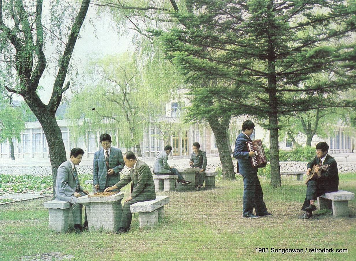 За закрытыми дверями Северной Кореи: ретро-открытки 70-80-х годов