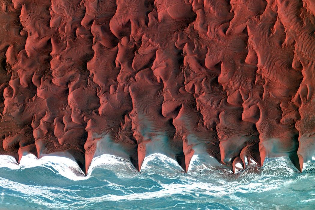 Побережье пустыни Намиб, Африка