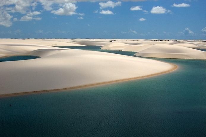 Национальный парк Ленсойс-Мараньенсис, Бразилия