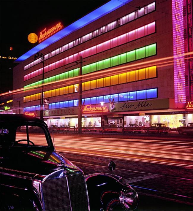 Цветные фотографии Германии после Второй мировой войны