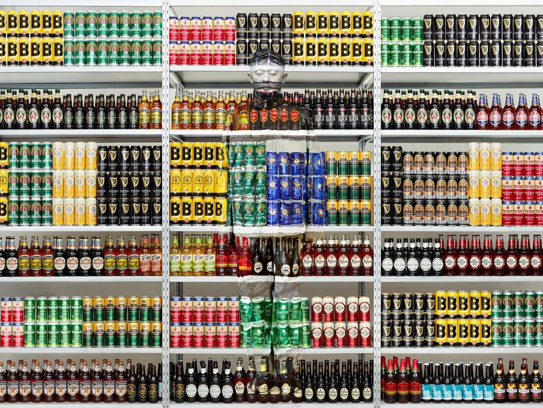 Найди человека: новые работы от художника-невидимки Лю Болина