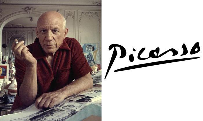 Пабло Пикассо и его подпись