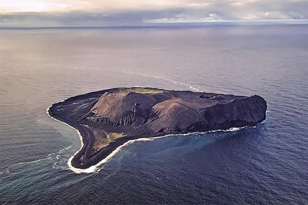 Сюртсей — самый молодой остров, которого не существовало до 1963 года