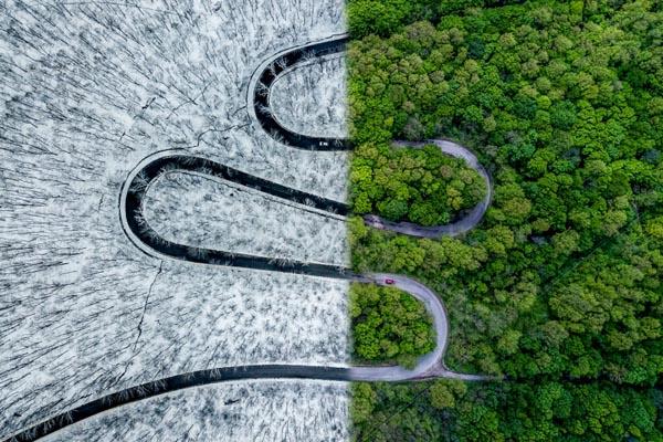 Победители международного конкурса аэрофотографии Drone Awards