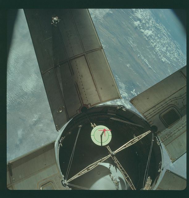 «Аполлон-7» — первый пилотируемый космический корабль серии «Аполлон», 1968 год