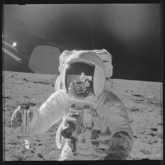 Член экипажа Аполлон-12, 1969 год