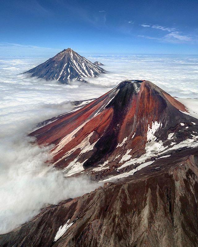 Вулкан Авачинский, Камчатка