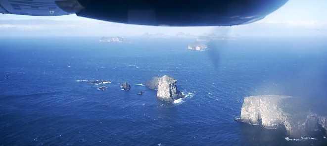 Более старые острова архипелага, демонстрирующие последствия столетий эрозии