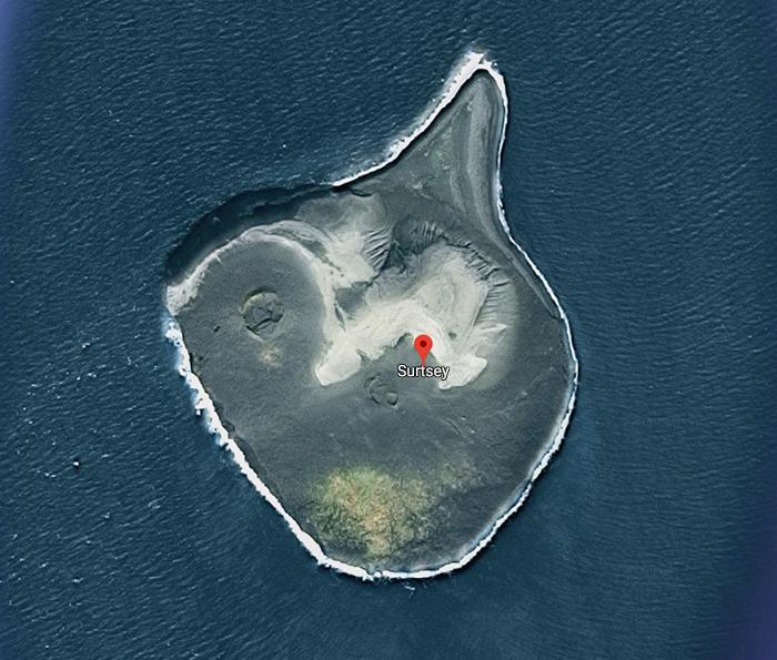 Остров Сюртсей