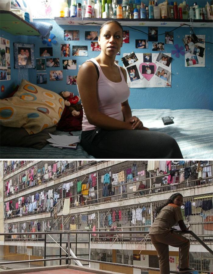 Женская тюрьма в Колумбии
