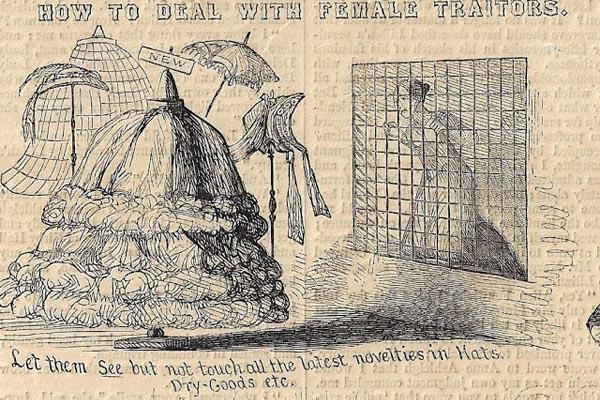 Как наказать женщину-предателя: пособие 1861 года