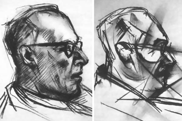 Эксперимент 1950-х: художнику давали ЛСД и просили нарисовать 9 портретов