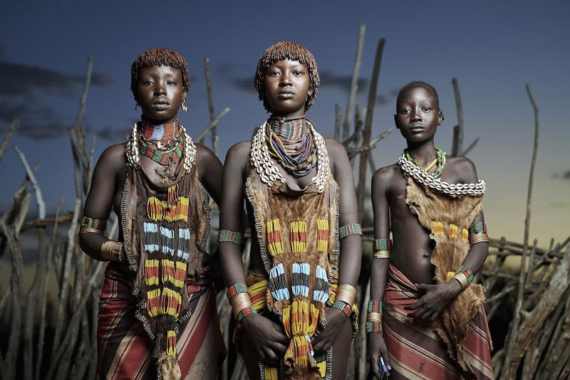Племя Хамер (Hamer), Эфиопия
