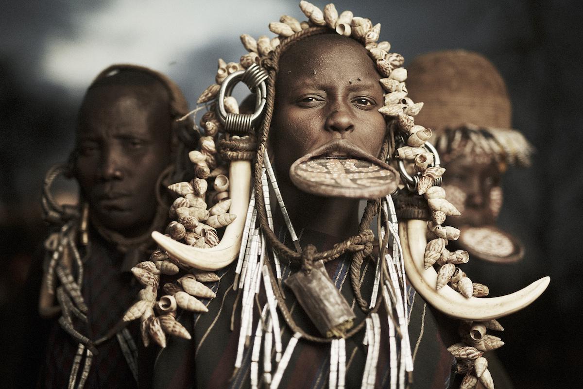 Племя Мурси (Mursi), Эфиопия