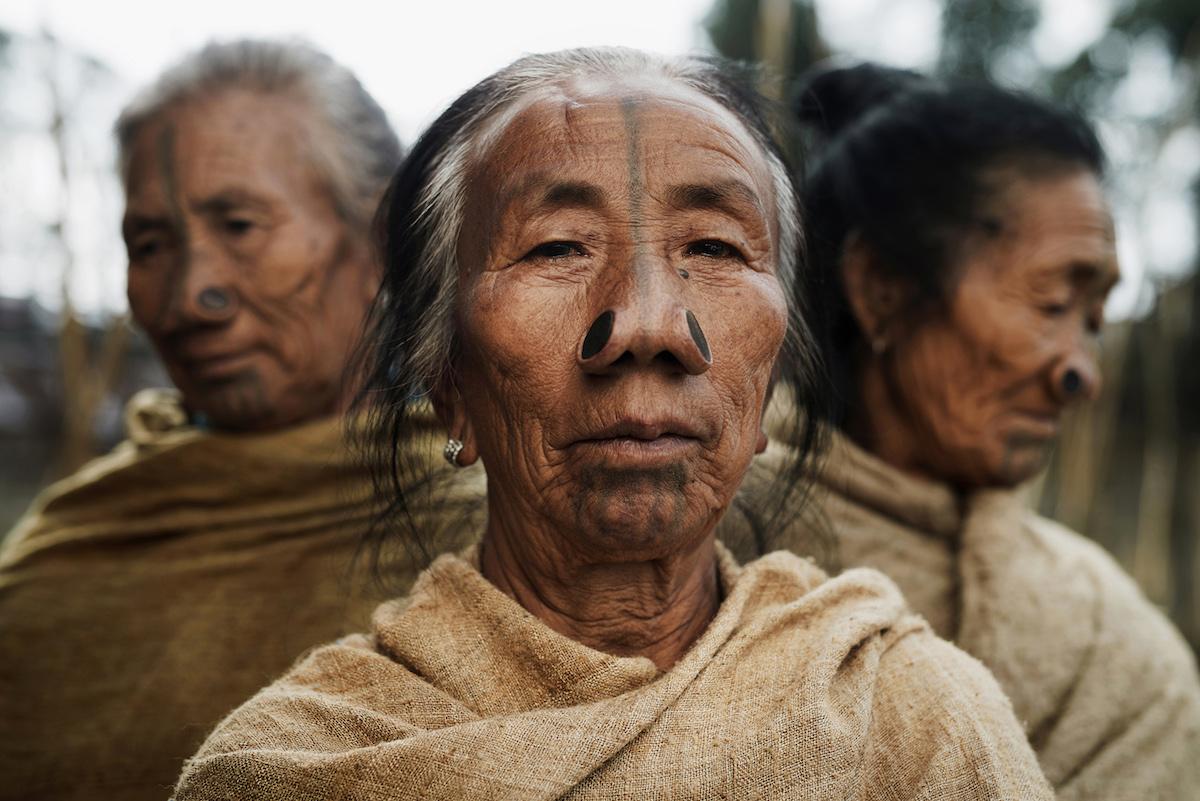 Племя Апатани (Apatani), Индия