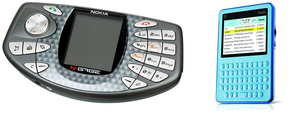 Nokia N-Gage иTwitterPeek