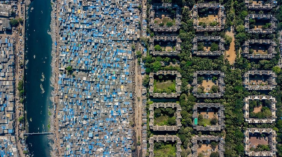 Аэрофотографии, раскрывающие социальное неравенство во всём мире