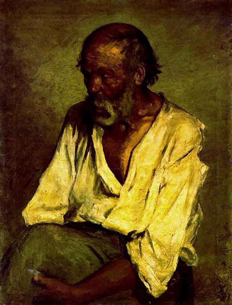 «Старый рыбак», 1895 год