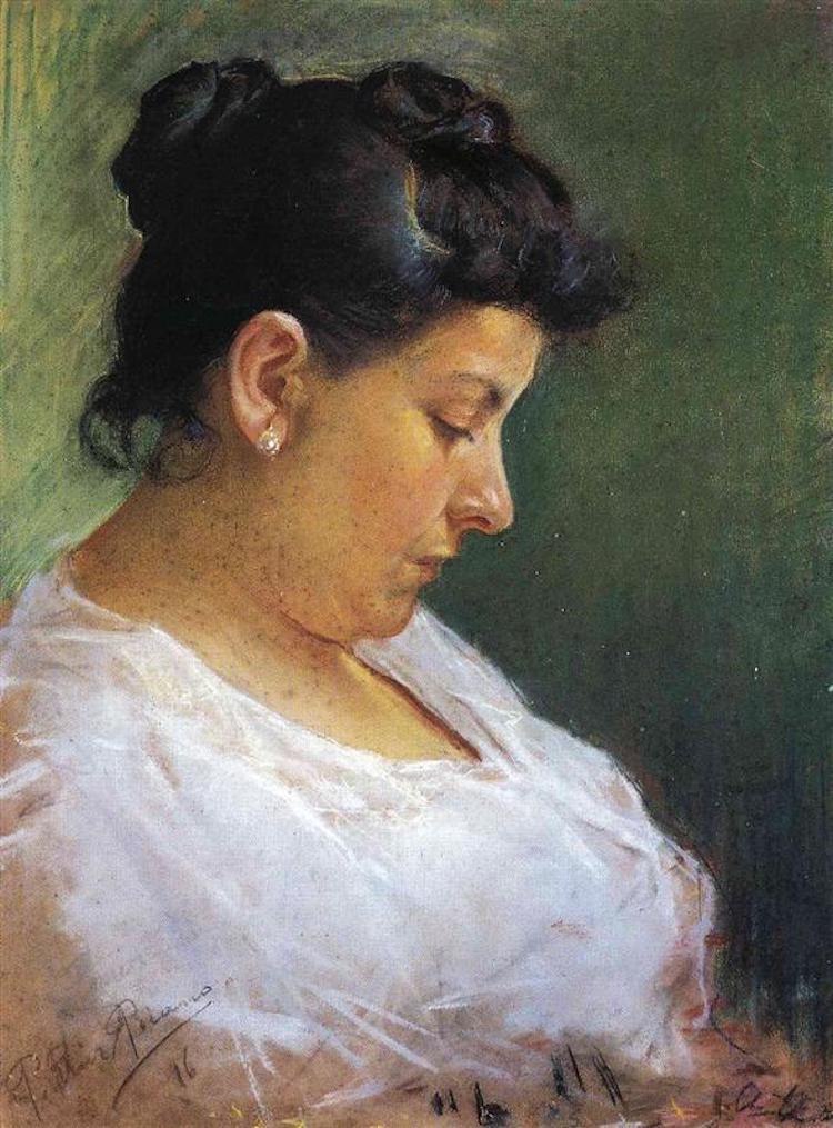 Портрет матери художника, 1896 год