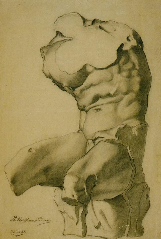 Торс, 1892 год