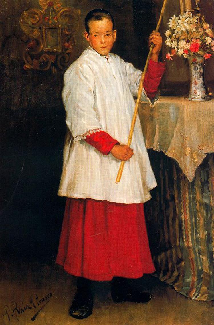 «Мальчик из хора», 1896 год