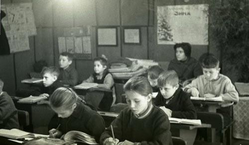 Урок в советской школе, 964 год