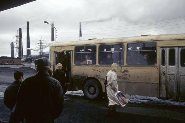 Фотографии повседневной жизни в России, снятые сразу после распада СССР
