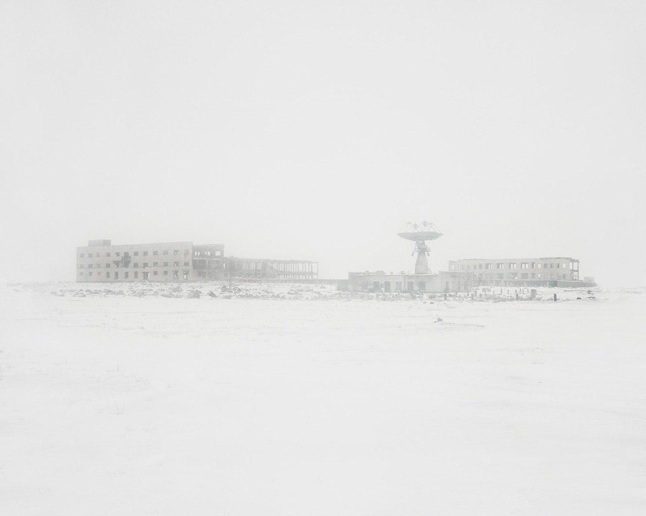 Наземная станция управления космическими аппаратами.Карагандинская область,Казахстан