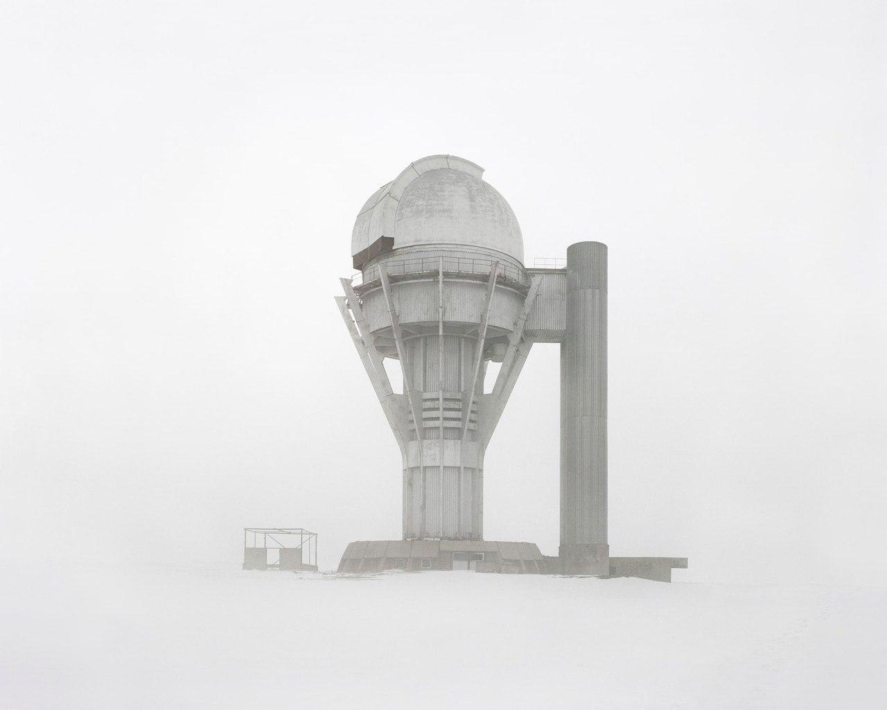Покинутая обсерватория в Алматинской области, Казахстан