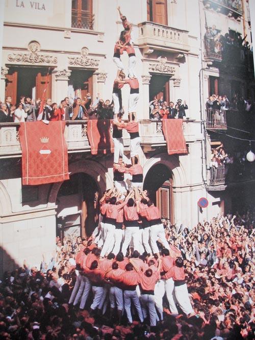 Кастели - удивительные «человеческие замки» в Каталонии