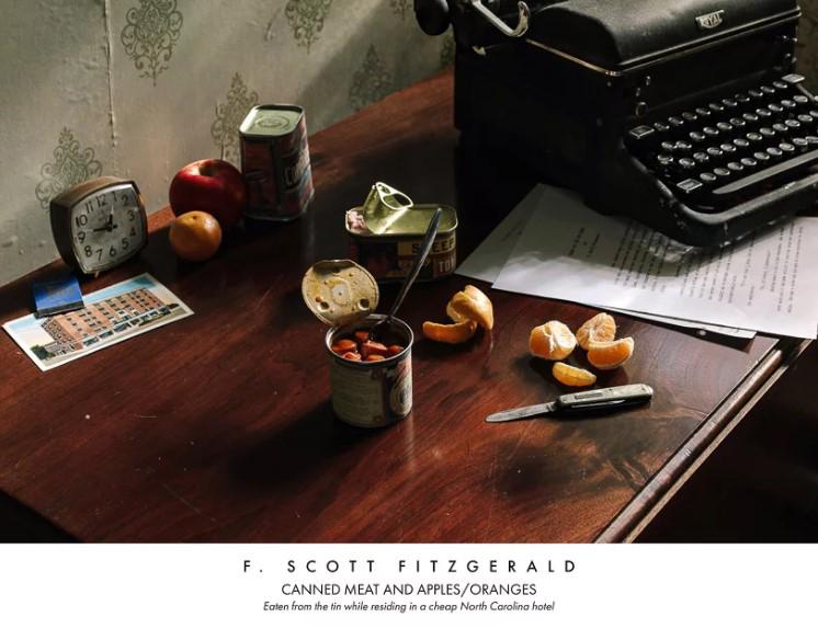 Писатель Фрэнсис Скотт Фицджеральд. Консервированное мясо и апельсины с яблоками