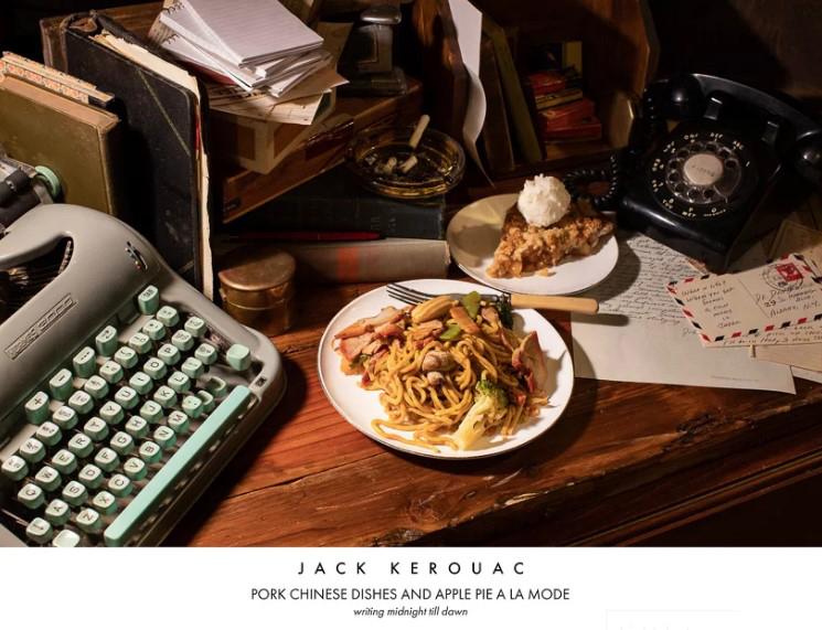 Писатель Джек Керуак. Китайская лапша со свининой и яблочный пирог c мороженым
